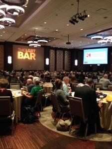 Vista de la conferencia